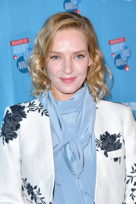 Uma Thurman attends the 2018 Broadway.com Audience Choice Awards