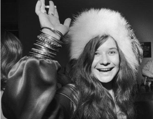 Janis Joplin throwback picture
