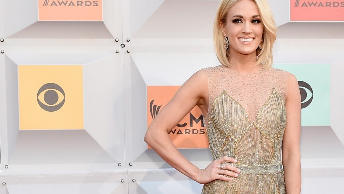 LAS VEGAS, NEVADA - APRIL 03:  Singer Carrie Underwood attends the 51st Academy of Country Music Awards at MGM Grand Garden Arena on April 3, 2016 in Las Vegas, Nevada.  (Photo by David Becker/Getty Images)