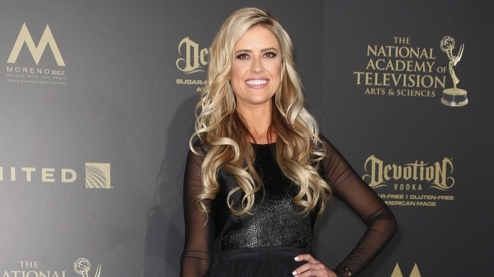 Christina El Moussa poses in the