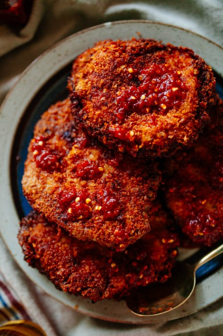 Anthony Bourdain Recipes: Crispy Macau-style pork chops made with five-spice powder and vinegar