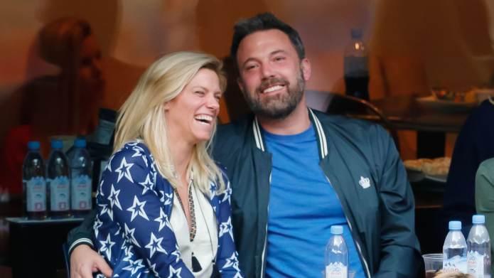 Ben Affleck & Lindsay Shookus Were