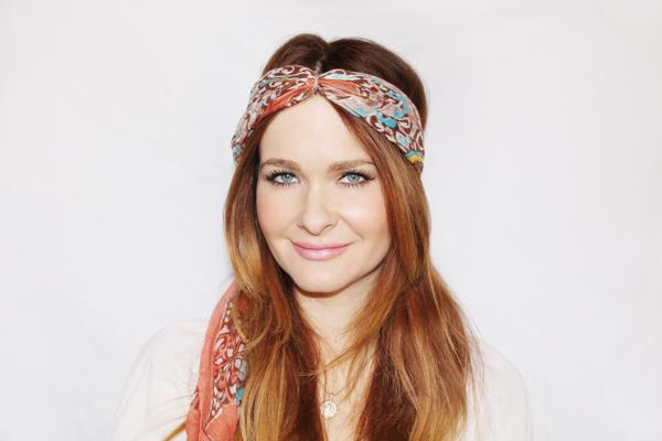 10 Hair Scarf Tutorials That Ll Take Your Summer Style To The Next Level Sheknows