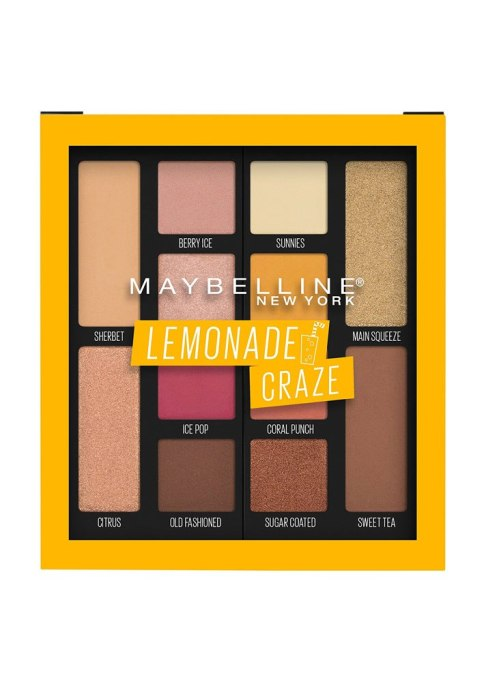 Maybelline New York Eyeshadow Palette Makeup in Lemonade Craze