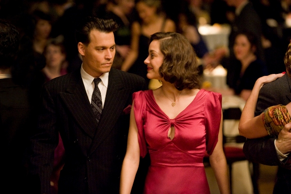 Johnny Depp and Marion Cotillard are Public Enemies