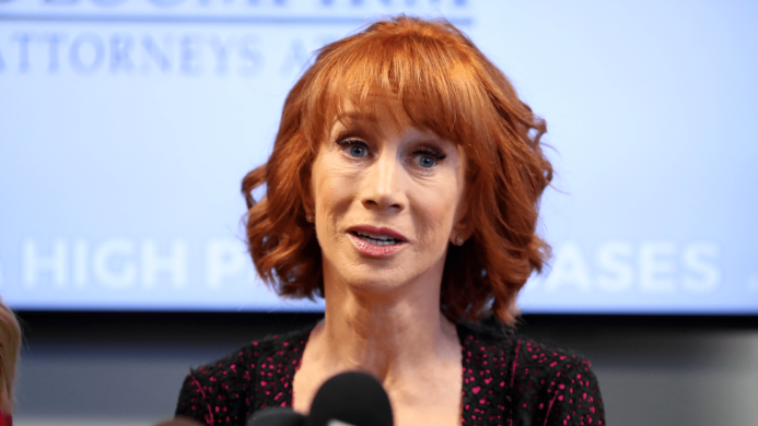 Kathy Griffin's Recent Video Rant Confirms