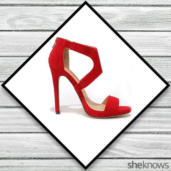 Red heels from Lulu's
