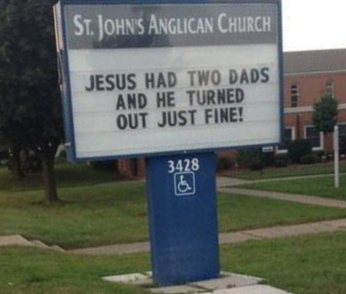 funny-church-signs-jesus-2-dads
