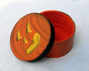 pumpkin box craft