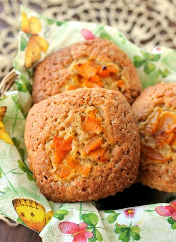 Pumpkin corn muffin