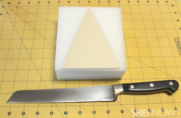 Cut foam