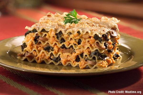 Pumpking Lasagna