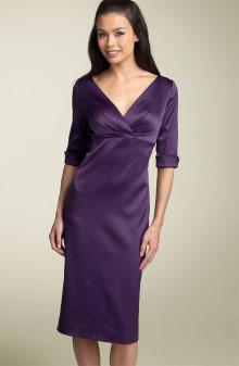 Purple sheath dress - Nordstrom