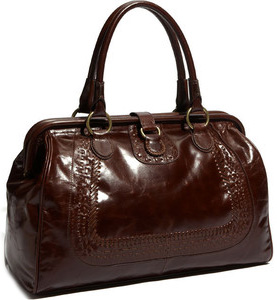 Our pick: Hinge Doctor' Satchel in chocolate brown leather (nordstrom.com, $248).