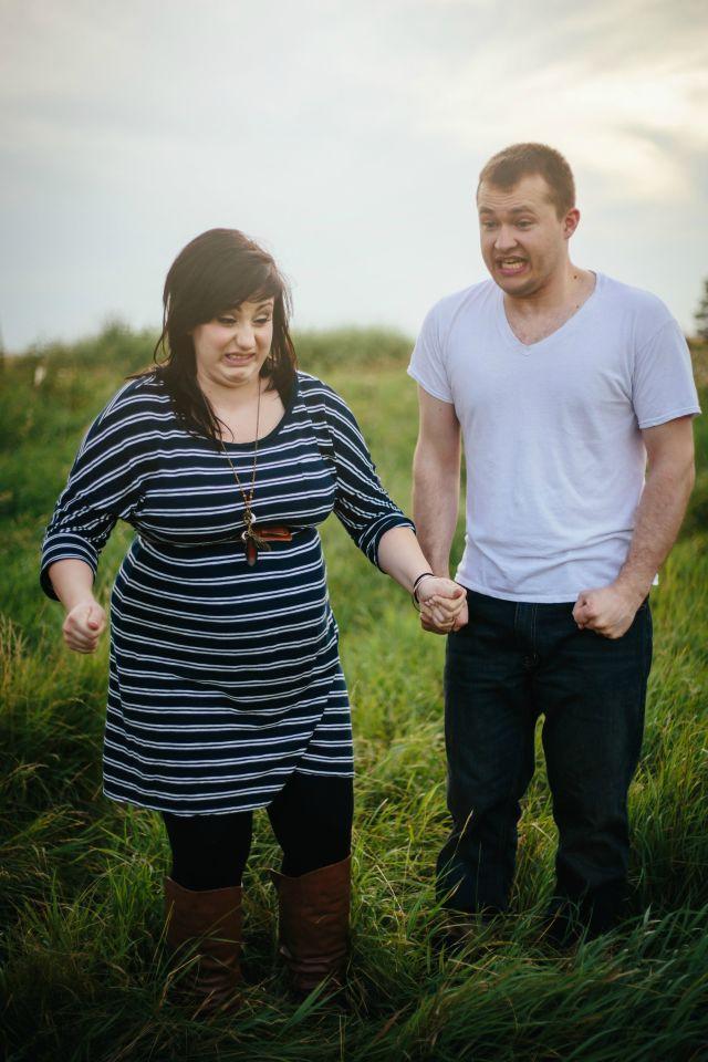 Push pregnancy photo