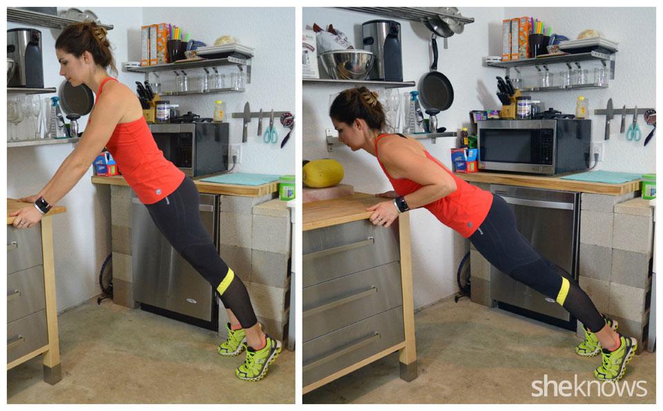 Counter pushups