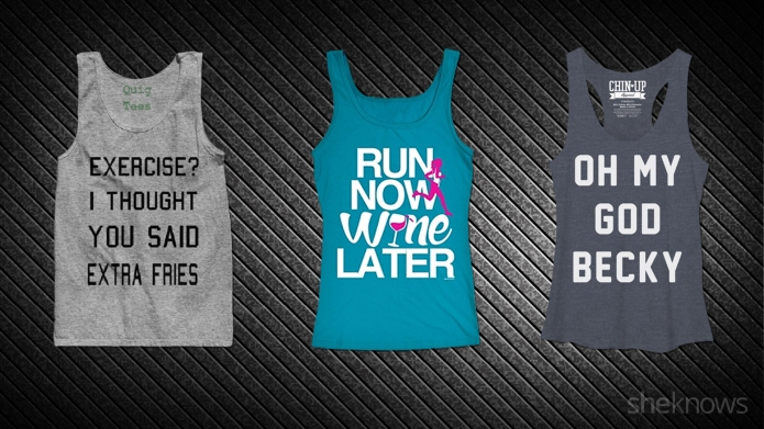 15 Workout tees that say what