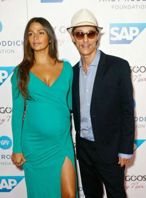 Matthew McConaughey is a dad for