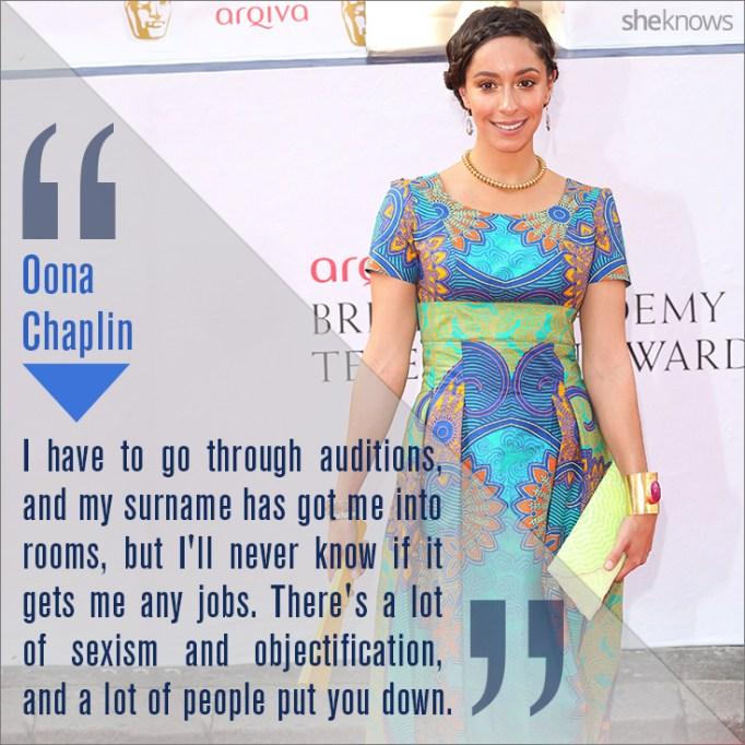Oona Chaplin quote