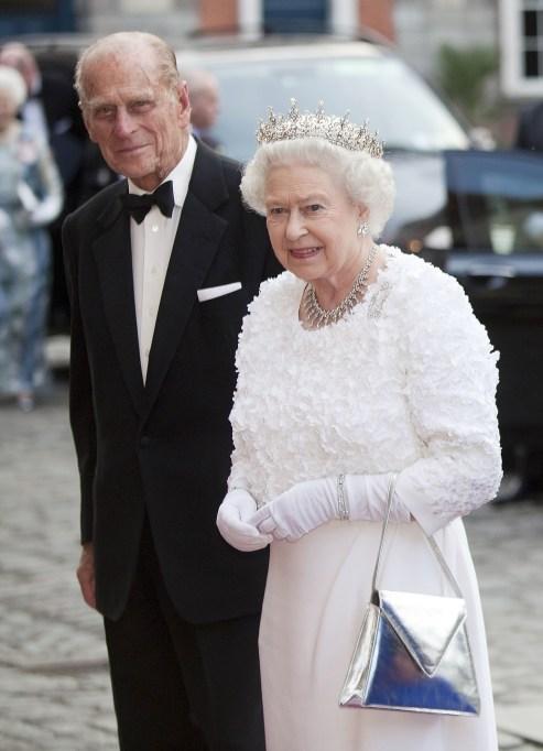 Queen Elizabeth II & Prince Philip in 2011