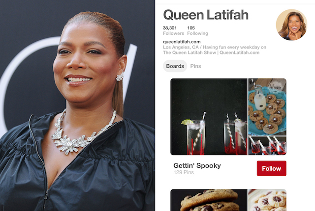 Celebs on Pinterest: Queen Latifah