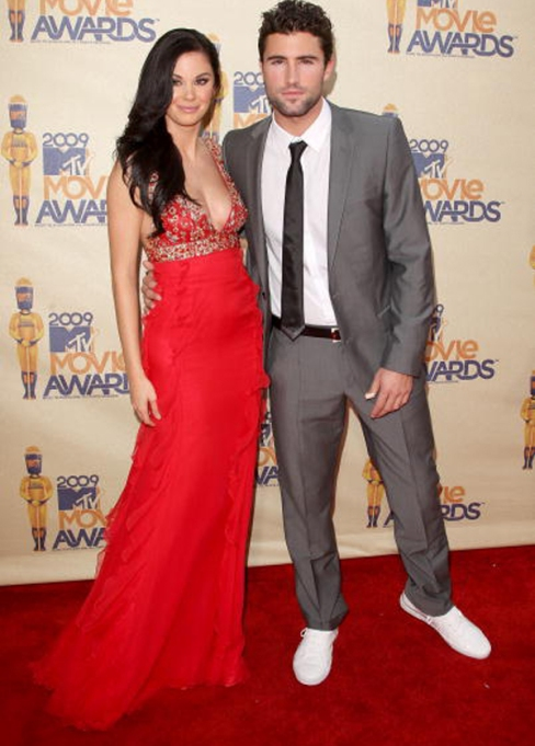 Jadye Nicole and Brody Jenner on the red carpet
