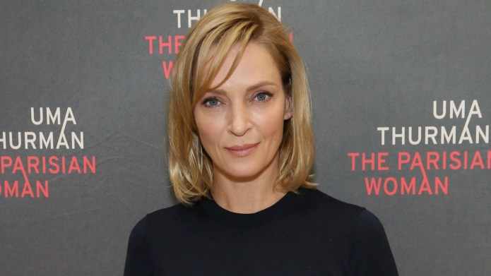 Uma Thurman Is Thankful for a