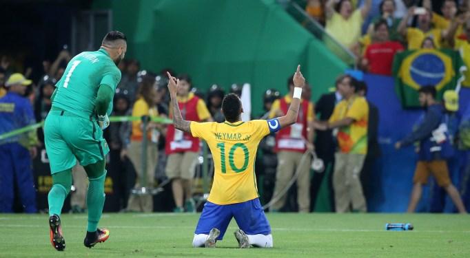 Neymar Olympics 2016