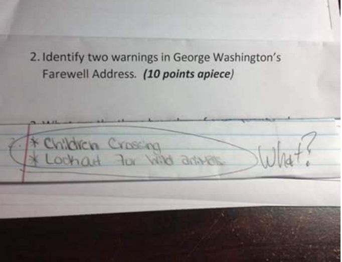 Hilarious notes kids left behind for their teachers