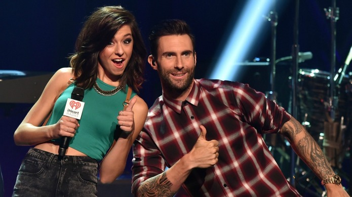 Adam Levine honors Christina Grimmie in
