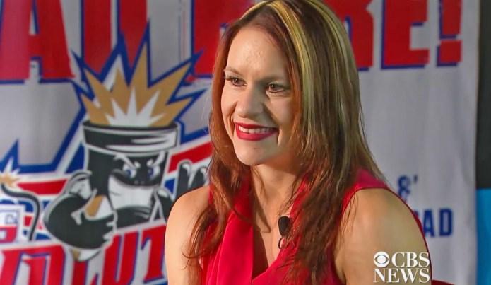 NFL's first female coach Jen Welter