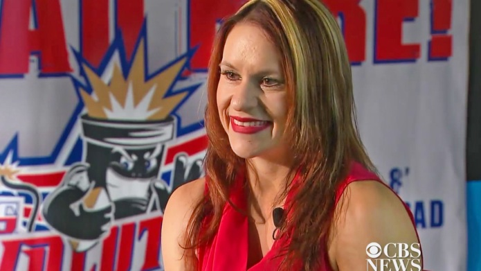 NFL's first female coach Jen Welter
