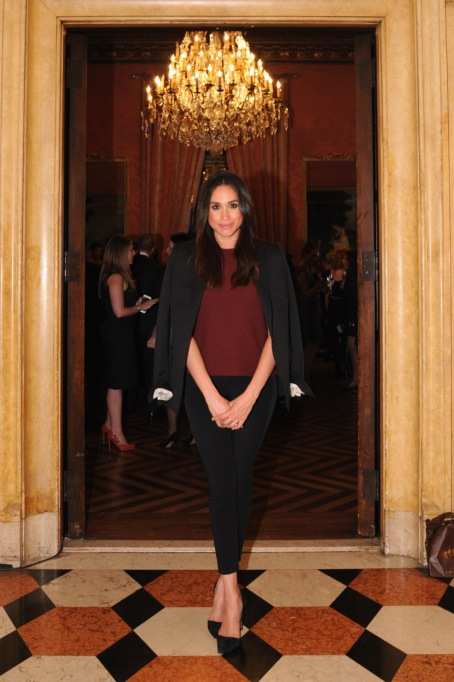 Meghan Markle's Most Fashionable Outfits | Attending the RELAIS & CHATEAUX 60th Anniversary Guest Chef Dinner Launc