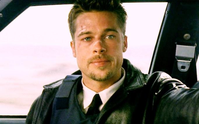 Brad Pitt in Se7en