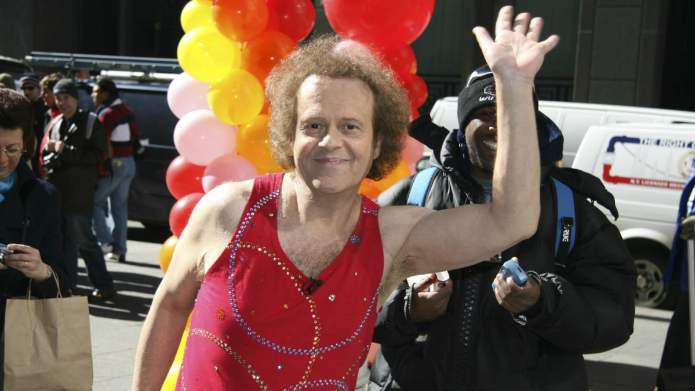 Richard Simmons Thanks LAPD for Having