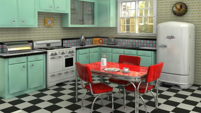 10 Retro-styled modern kitchens that prove