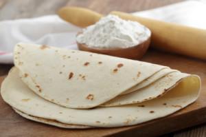 Vegan flour tortillas