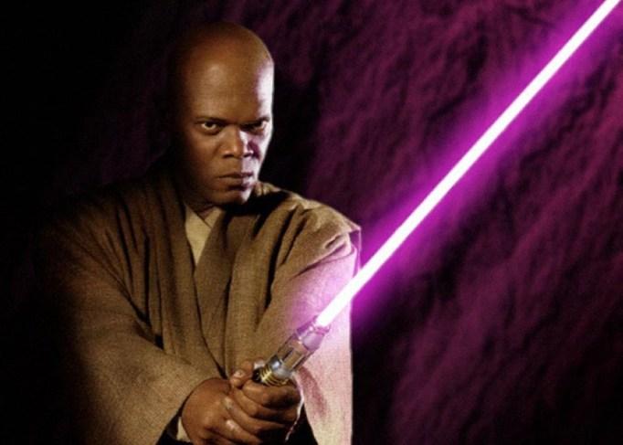 Samuel L. Jackson in Star Wars