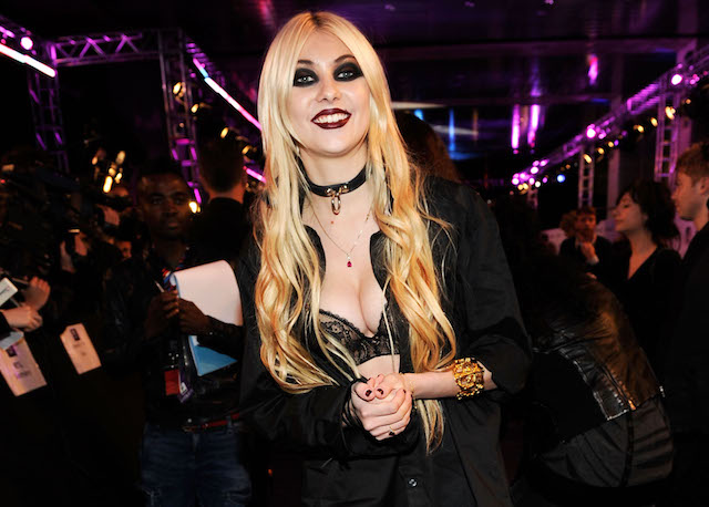 Taylor Momsen attends the MTV Europe Awards 2010 at the La Caja Magica