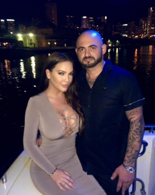 Jessica Parido and new man Karlen Shubaralyan