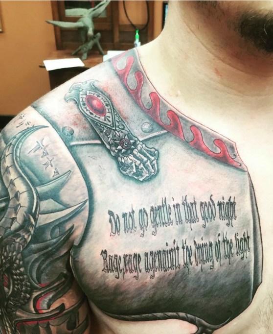Celebrity Tattoos 2017: Prince Jackson