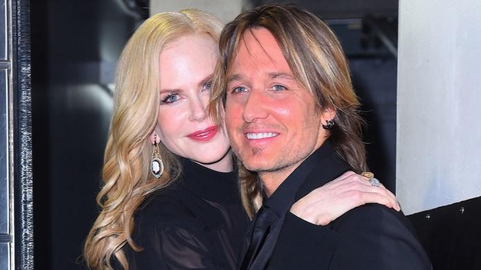 Nicole Kidman and Keith Urban seen