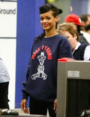 Rihanna's 777 tour hijacked by Aussie