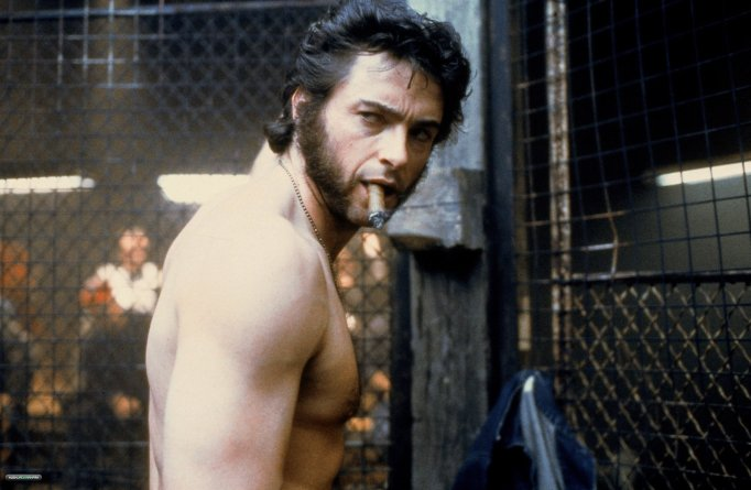 The many looks of Hugh Jackman: X-Men muscles