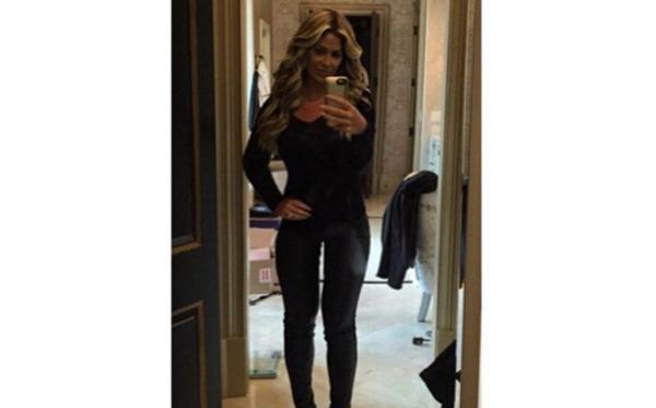 Kim Zolciak selfie