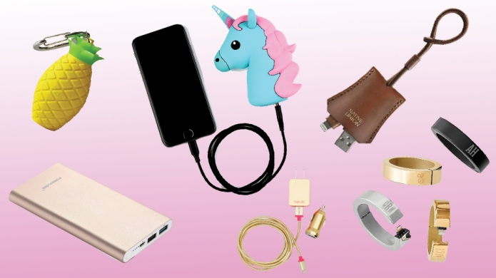 16 Chic Phone Chargers for When