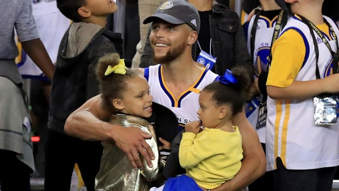 Steph Curry's Adorable Daughters Were the