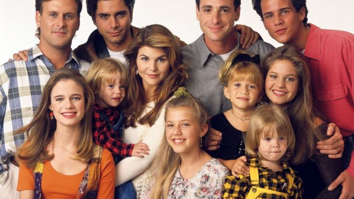 The 'Fuller House' cast then and