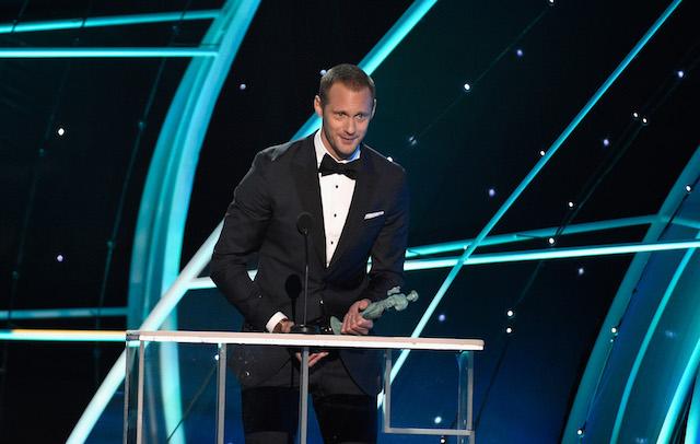 Best Winners' Speeches from the SAG Awards 2018: Alexander Skarsgård