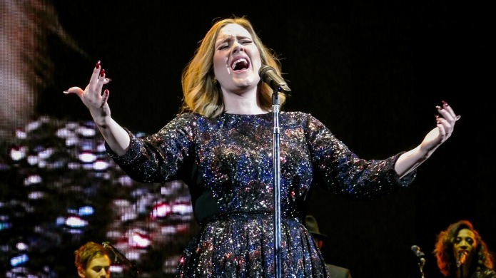 Adele apparently has one rule at